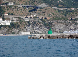 Salerno Harbor South Mole