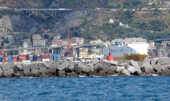 Salerno Harbor North Mole